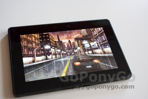Review de tablet Blackberry PlayBook