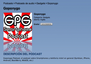 GPG Podcast iTunes