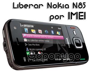 Liberar Nokia N85 por IMEI