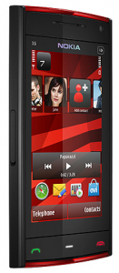 Nokia X6 Red