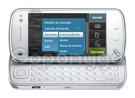 Como activar el texto predictivo en el N97