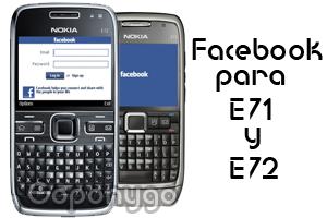 Facebook E71 E72