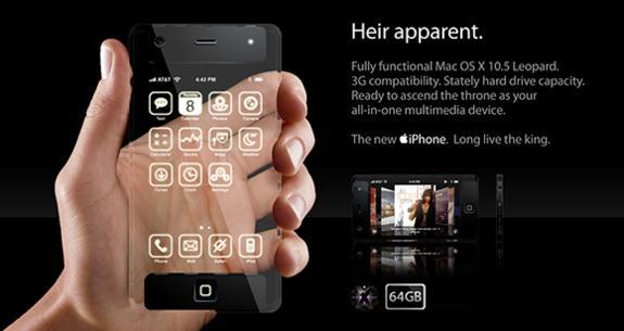iphone concepto