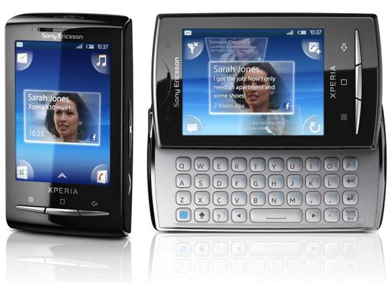 Sonyericsson Xperia X10 Mini PRO