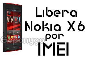 Liberar Nokia X6 por IMEI