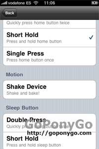 minimizar aplicaciones con Backgrounder