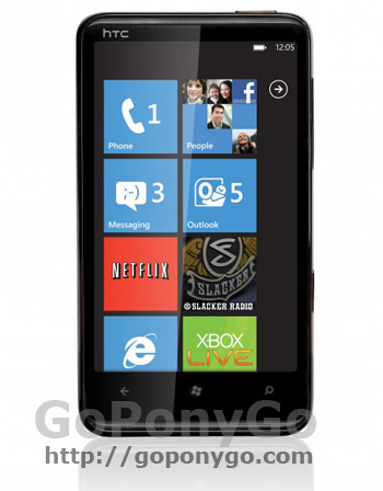 Htc HD 7 con Windows Phone 7
