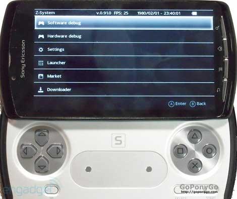 Futuro Sony Ericsson PSPhone
