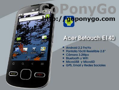 Acer Betouch E140 con The Phone House