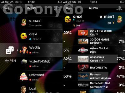 Aplicación PlayStation para Android e iPhone