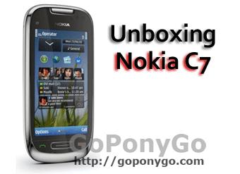 Unboxing del Nokia C7