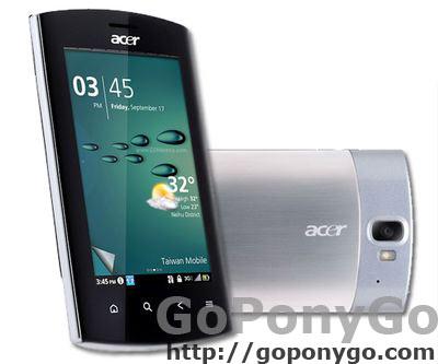 Smartphone Liquid Metal de Acer