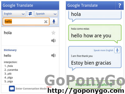 Aplicación Google Translate para Android