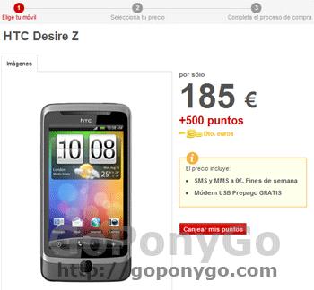 HTC-Desire-Z-Vodafone-puntos