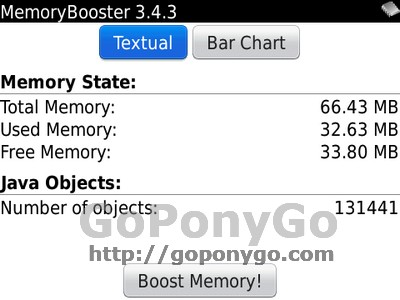 Memory Booster Blackberry