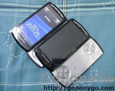 PlayStation Phone fotografía