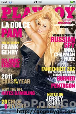 Revista Playboy para iPad