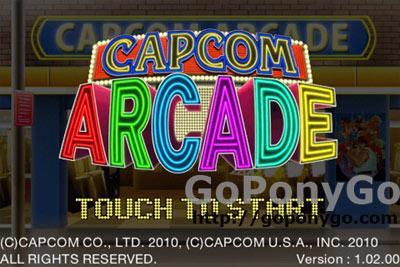 Capcom Arcade pantalla