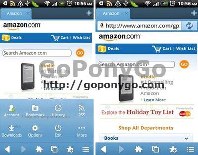 Maxthon navegador en Android