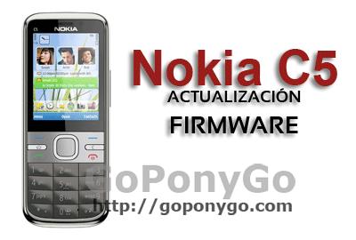 NOOKIA-C5-ACTUALIZACIÓN-FIRMWARE