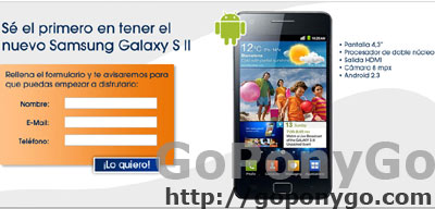 Samsung Galaxy S2 en The Phone House