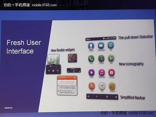 Symbian UI Widgets