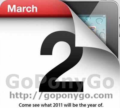 Keynote de Apple para el 2 de marzo