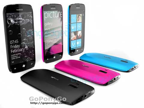 Posibles móviles de Nokia con Windows Phone 7