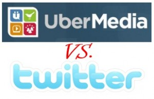 Ubermedia contra Twitter