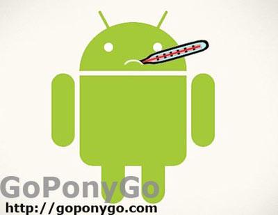Android virus logo