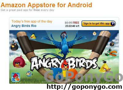 Angry Birds Rio AppStore Amazon