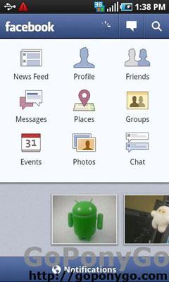 Actualización 1.5.2 Facebook para Android