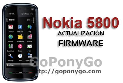 NOKIA-5800-ACTUALIZACIÓN-FIRMWARE