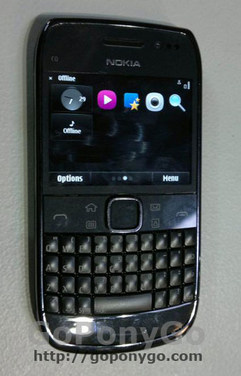 Filtrada la imagen del Nokia E6.
