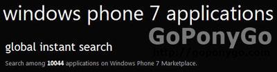 10.000 aplicaciones en Windows Phone 7