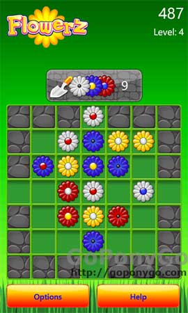 Flowerz para Xbox LIVE de Windows Phone 7