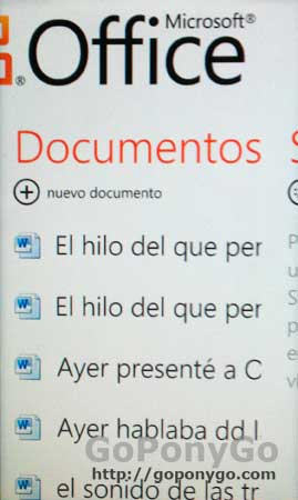 Office para Windows Phone 7