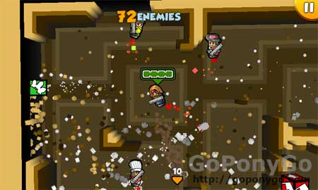 Rocket Riot para Windows Phone 7