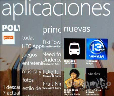 Top con las cinco mejores aplicaciones de Windows Phone 7
