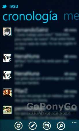 Twitter oficial para Windows Phone 7