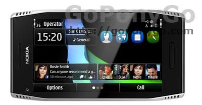 Nokia X7-00 con Symbian Anna