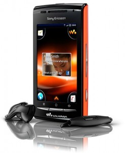Sony Ericsson W8 con Walkman y Android
