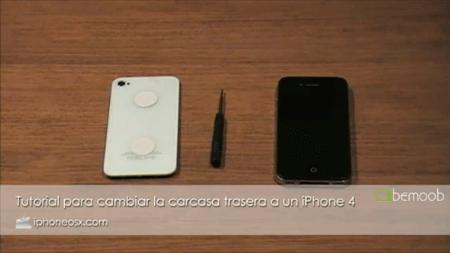 Tutorial sobre cómo cambiarle la tapa trasera a un iPhone 4