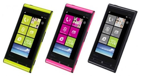 Fujitsu-Toshiba IS12T con Windows Phone Mango
