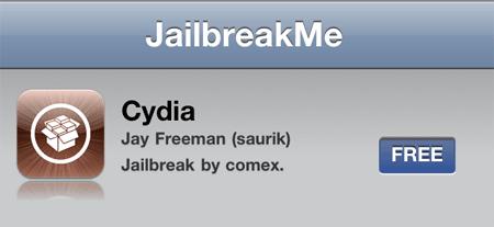 Jailbreak al iPhone mediante la página web Jailbreakme.com