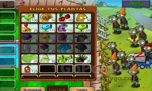 Plantas contra zombies (3)