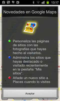 google-maps-5.8-novedades