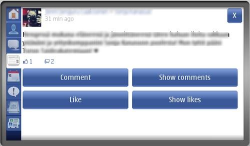 facebook symbian