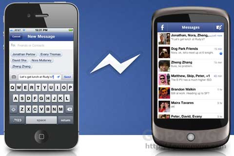 Facebook Messenger, aplicación de chat para Android y iPhone