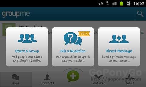 GroupMe, mensajería instantánea multiplataforma estilo Whatsapp